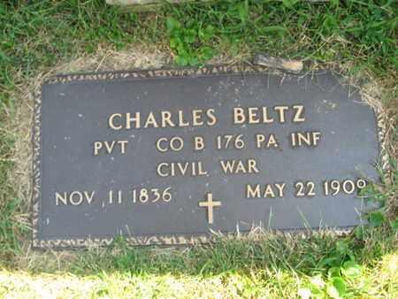 BELTZ (CW), CHARLES - Lehigh County, Pennsylvania | CHARLES BELTZ (CW) - Pennsylvania Gravestone Photos