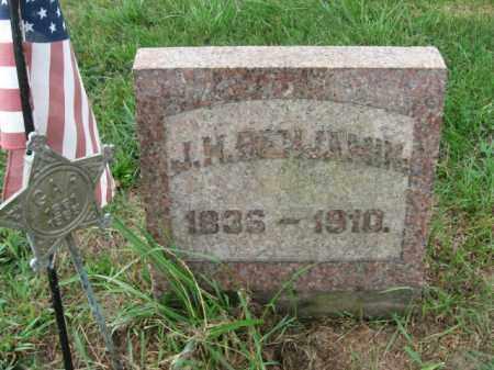 BENJAMIN, J.H. - Lehigh County, Pennsylvania | J.H. BENJAMIN - Pennsylvania Gravestone Photos