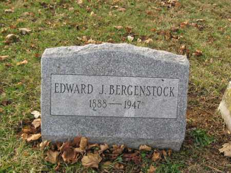 BERGENSTOCK, EDWARD J. - Lehigh County, Pennsylvania   EDWARD J. BERGENSTOCK - Pennsylvania Gravestone Photos