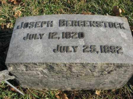 BERGENSTOCK, JOSEPH - Lehigh County, Pennsylvania   JOSEPH BERGENSTOCK - Pennsylvania Gravestone Photos