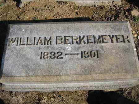 BERKEMEYER, WILLIAM - Lehigh County, Pennsylvania | WILLIAM BERKEMEYER - Pennsylvania Gravestone Photos