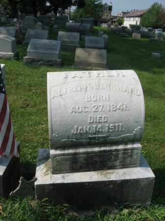 BERNHARD, ALFRED T. - Lehigh County, Pennsylvania   ALFRED T. BERNHARD - Pennsylvania Gravestone Photos