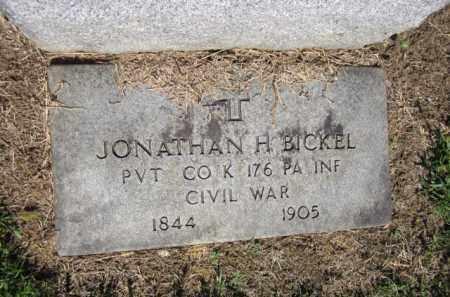 BICKEL (CW), JONATHAN - Lehigh County, Pennsylvania | JONATHAN BICKEL (CW) - Pennsylvania Gravestone Photos