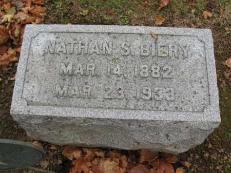 BIERY, NATHAN - Lehigh County, Pennsylvania | NATHAN BIERY - Pennsylvania Gravestone Photos