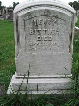 BITTING, HENRY - Lehigh County, Pennsylvania   HENRY BITTING - Pennsylvania Gravestone Photos