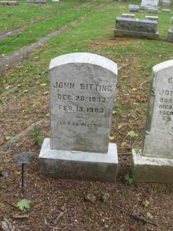 BITTING, JOHN - Lehigh County, Pennsylvania   JOHN BITTING - Pennsylvania Gravestone Photos