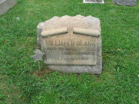 BLANK, WILLIAM H. - Lehigh County, Pennsylvania   WILLIAM H. BLANK - Pennsylvania Gravestone Photos