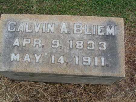 BLIEM, CALVIN A. - Lehigh County, Pennsylvania | CALVIN A. BLIEM - Pennsylvania Gravestone Photos