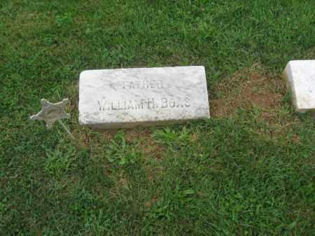 BOAS, WILLIAM H. - Lehigh County, Pennsylvania   WILLIAM H. BOAS - Pennsylvania Gravestone Photos