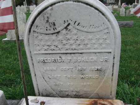 BOHLEN,JR., FREDRICK T. - Lehigh County, Pennsylvania | FREDRICK T. BOHLEN,JR. - Pennsylvania Gravestone Photos