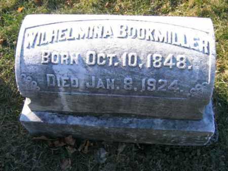 BOOKMILLER, WILHELMINA - Lehigh County, Pennsylvania | WILHELMINA BOOKMILLER - Pennsylvania Gravestone Photos