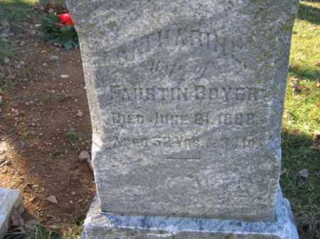 BOYER, CATHARINE - Lehigh County, Pennsylvania   CATHARINE BOYER - Pennsylvania Gravestone Photos