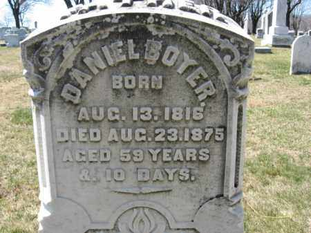 BOYER, DANIEL - Lehigh County, Pennsylvania   DANIEL BOYER - Pennsylvania Gravestone Photos