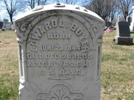 BOYER, EDWARD - Lehigh County, Pennsylvania | EDWARD BOYER - Pennsylvania Gravestone Photos