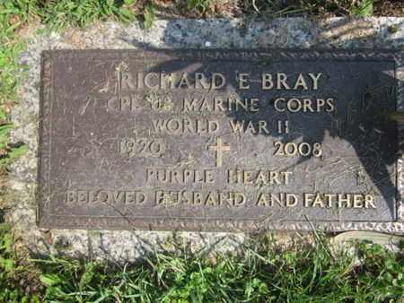 BRAY, RICHARD E. - Lehigh County, Pennsylvania | RICHARD E. BRAY - Pennsylvania Gravestone Photos