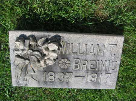 BREINIG, WILLIAM T. - Lehigh County, Pennsylvania | WILLIAM T. BREINIG - Pennsylvania Gravestone Photos