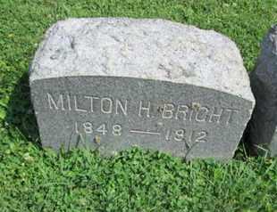 BRIGHT, MILTON H. - Lehigh County, Pennsylvania | MILTON H. BRIGHT - Pennsylvania Gravestone Photos