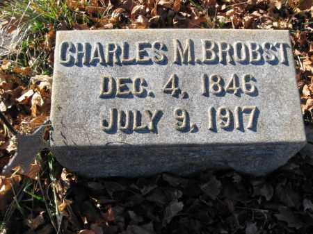 BROBST, PVT.CHARLES M. - Lehigh County, Pennsylvania | PVT.CHARLES M. BROBST - Pennsylvania Gravestone Photos