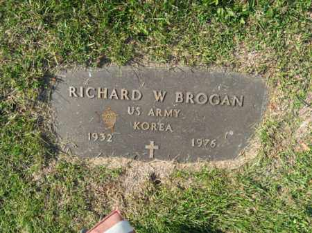 BROGAN, RICHARD W. - Lehigh County, Pennsylvania | RICHARD W. BROGAN - Pennsylvania Gravestone Photos