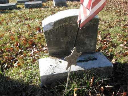 BROWN, PVT. HENRY A. - Lehigh County, Pennsylvania | PVT. HENRY A. BROWN - Pennsylvania Gravestone Photos