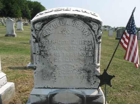 BROWN, SAMUEL A. - Lehigh County, Pennsylvania | SAMUEL A. BROWN - Pennsylvania Gravestone Photos