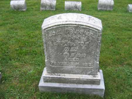 BRUNNER, JOEL - Lehigh County, Pennsylvania   JOEL BRUNNER - Pennsylvania Gravestone Photos