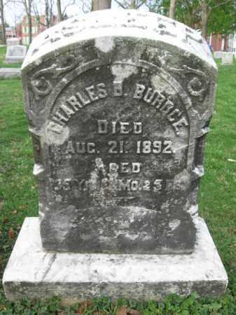 BURDGE, CHARLS B. - Lehigh County, Pennsylvania | CHARLS B. BURDGE - Pennsylvania Gravestone Photos