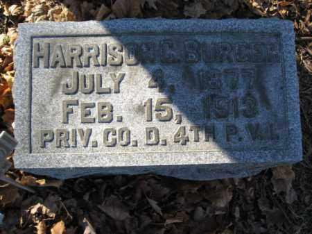 BURGER, HARRISON C. - Lehigh County, Pennsylvania | HARRISON C. BURGER - Pennsylvania Gravestone Photos