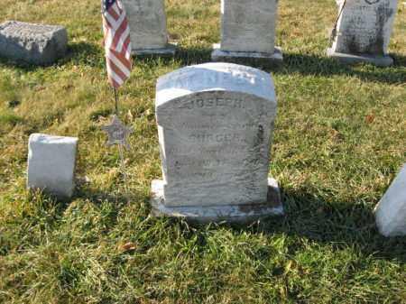 BURGER, JOSEPH - Lehigh County, Pennsylvania | JOSEPH BURGER - Pennsylvania Gravestone Photos