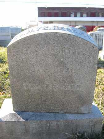 BURKHARDT, PVT. GEORGE J. - Lehigh County, Pennsylvania   PVT. GEORGE J. BURKHARDT - Pennsylvania Gravestone Photos
