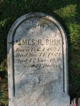 BUSH, JAMES H. - Lehigh County, Pennsylvania | JAMES H. BUSH - Pennsylvania Gravestone Photos