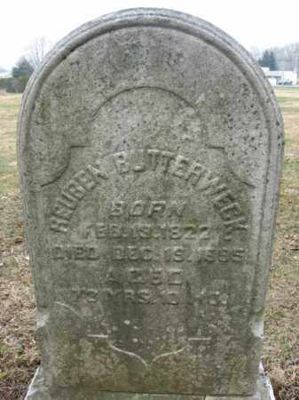 BUTTERWECK, REUBEN - Lehigh County, Pennsylvania | REUBEN BUTTERWECK - Pennsylvania Gravestone Photos
