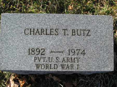 BUTZ, CHARLES T. - Lehigh County, Pennsylvania   CHARLES T. BUTZ - Pennsylvania Gravestone Photos