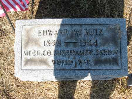 BUTZ, EDWARD W. - Lehigh County, Pennsylvania | EDWARD W. BUTZ - Pennsylvania Gravestone Photos