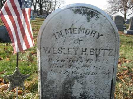 BUTZ, WESLEY H. - Lehigh County, Pennsylvania | WESLEY H. BUTZ - Pennsylvania Gravestone Photos