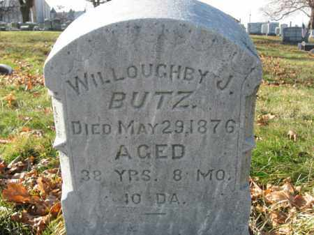 BUTZ, WILLOUGHBY J. - Lehigh County, Pennsylvania   WILLOUGHBY J. BUTZ - Pennsylvania Gravestone Photos