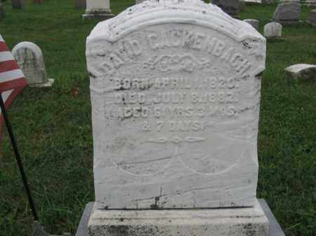 CACKENBACH, DAVID - Lehigh County, Pennsylvania   DAVID CACKENBACH - Pennsylvania Gravestone Photos