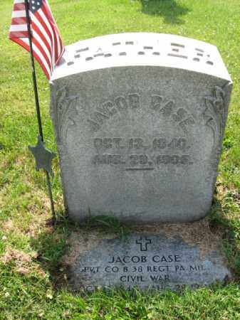 CASE (CW), JACOB - Lehigh County, Pennsylvania | JACOB CASE (CW) - Pennsylvania Gravestone Photos