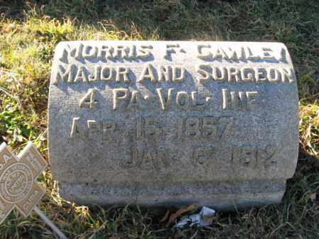 CAWLEY, MAJOR MORRIS F. - Lehigh County, Pennsylvania | MAJOR MORRIS F. CAWLEY - Pennsylvania Gravestone Photos