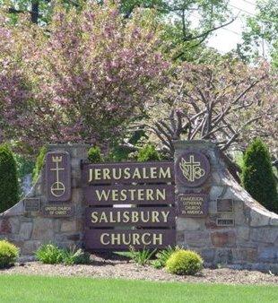 CEMETERY SIGN, JERUSALEM WESTERN SALISBURY - Lehigh County, Pennsylvania | JERUSALEM WESTERN SALISBURY CEMETERY SIGN - Pennsylvania Gravestone Photos