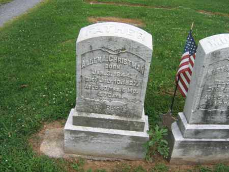 CHRISTMAN, ALLEN A. - Lehigh County, Pennsylvania | ALLEN A. CHRISTMAN - Pennsylvania Gravestone Photos