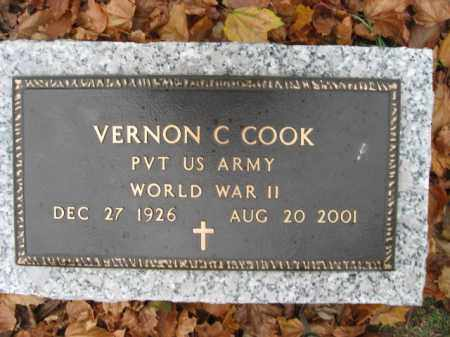 COOK (WW II), VERNON  C. - Lehigh County, Pennsylvania | VERNON  C. COOK (WW II) - Pennsylvania Gravestone Photos