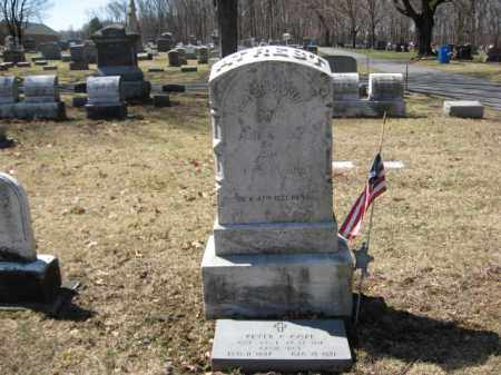 COPE (CW), PVT.PETER C. - Lehigh County, Pennsylvania | PVT.PETER C. COPE (CW) - Pennsylvania Gravestone Photos