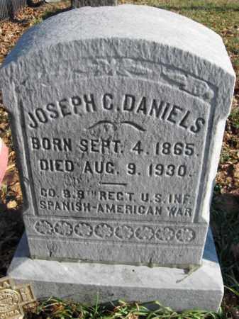 DANIELS, JOSEPH C. - Lehigh County, Pennsylvania   JOSEPH C. DANIELS - Pennsylvania Gravestone Photos