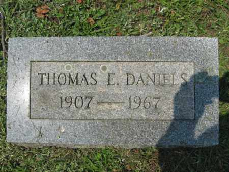 DANIELS, THOMAS E. - Lehigh County, Pennsylvania | THOMAS E. DANIELS - Pennsylvania Gravestone Photos