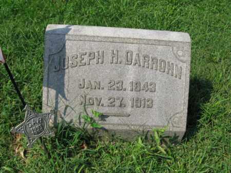 DARROHN, JOSEPH H. - Lehigh County, Pennsylvania   JOSEPH H. DARROHN - Pennsylvania Gravestone Photos