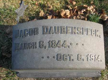 DAUBENSPECK, PVT. JACOB - Lehigh County, Pennsylvania   PVT. JACOB DAUBENSPECK - Pennsylvania Gravestone Photos