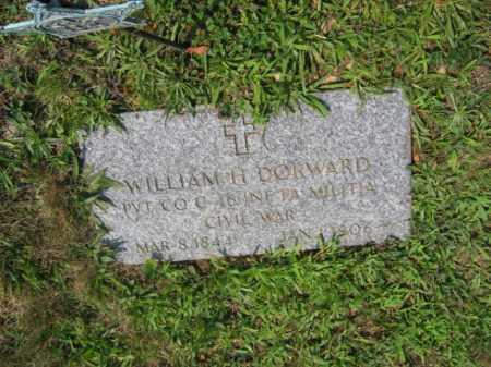 DORWARD (CW), WILLIAM H. - Lehigh County, Pennsylvania | WILLIAM H. DORWARD (CW) - Pennsylvania Gravestone Photos