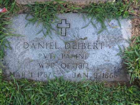DEIBERT, PVT.DAANIEL - Lehigh County, Pennsylvania | PVT.DAANIEL DEIBERT - Pennsylvania Gravestone Photos