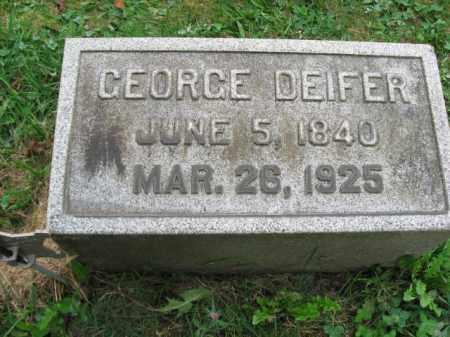 DEIFER, GEORGE - Lehigh County, Pennsylvania | GEORGE DEIFER - Pennsylvania Gravestone Photos